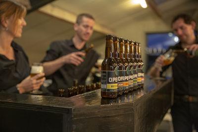 Bierproeverij bij OPENER bier in Dongen