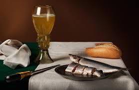 bier en haring