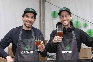 Groepsuitjes bij OPENER bier