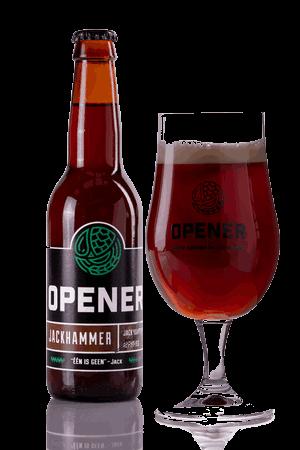 Jackhammer wijn speciaal bier Opener
