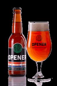 Rood wit brouw speciaal bier Opener