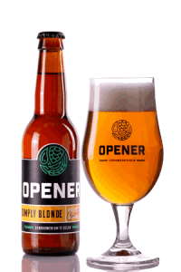 Simply Blonde speciaal bier Opener