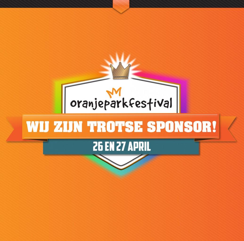 Oranjeparkfestival Dongen Sponsoring door Opener